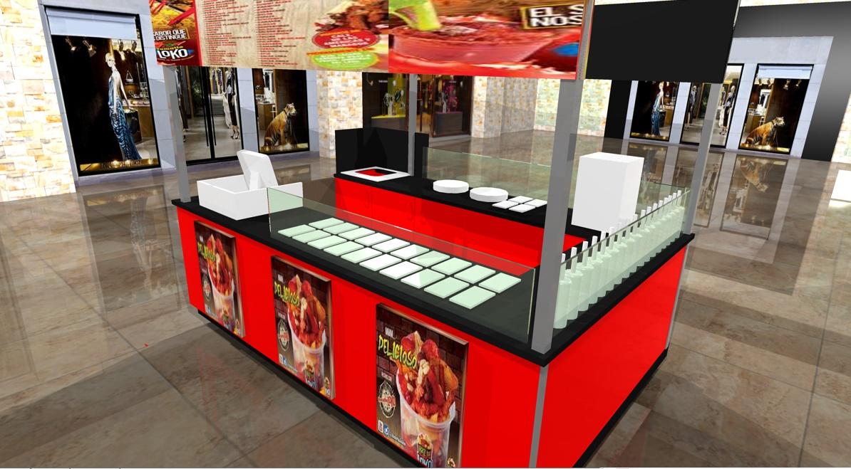 Muebles heladeria obtenga ideas dise o de muebles para - Muebles para centros comerciales ...