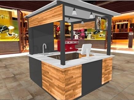 Kioscos comerciales kioskos kioscos para centros for Diseno de kioscos en madera