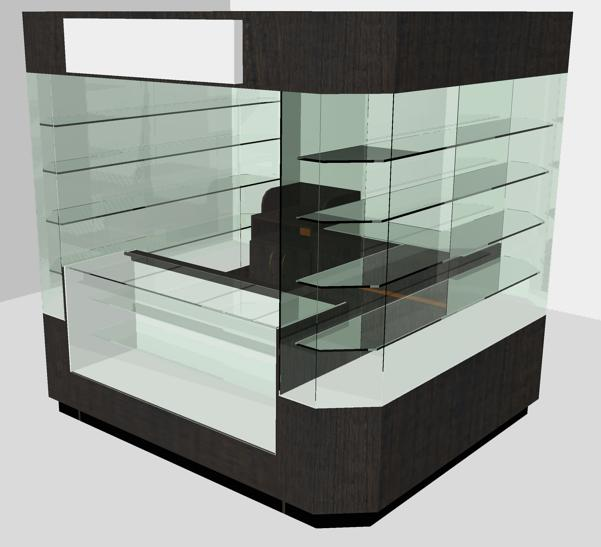 Kioscos islas y kioscos para centro comercial for Disenos de kioscos de madera