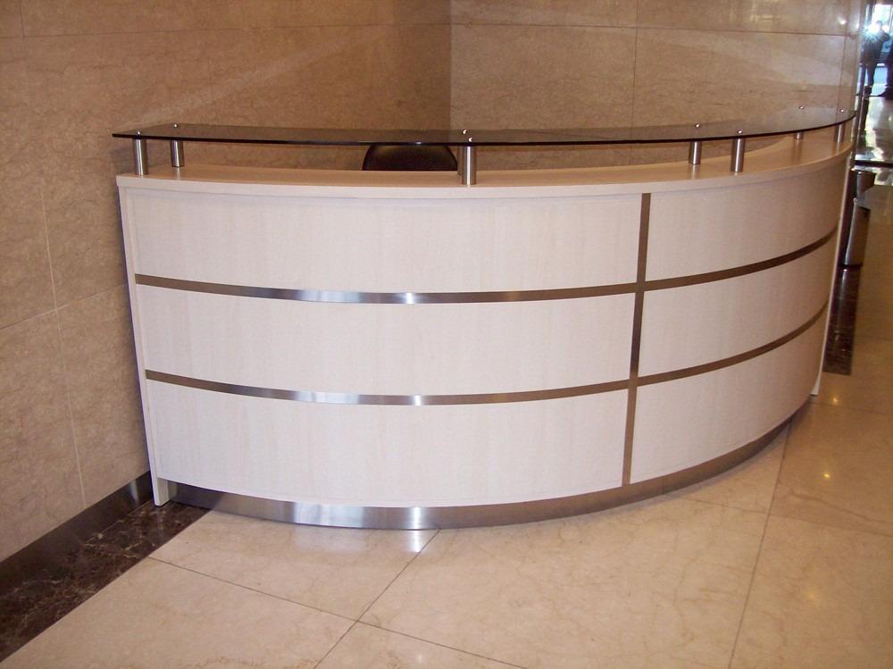 Muebles de oficina vidrio y acero 20170725150940 for Muebles de oficina k y v